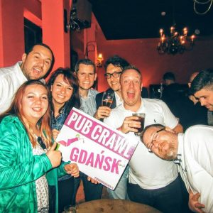 Pub Crawl Gdansk Ticket